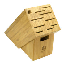 SHUN 11-Slot Bamboo Kitchen Block (DM0831)