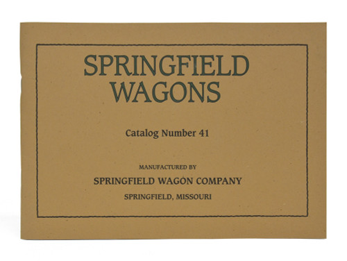 Springfield Wagons Catalog Number 41