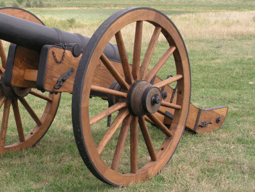 "57"" Civil War Cannon Wheel-Custom Order"