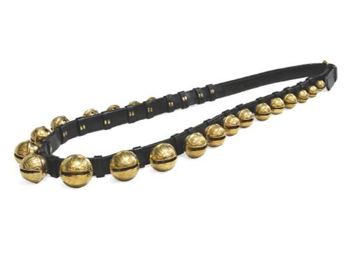 "25 Sleigh Bell Strap Black, 1-1/2"" W x 83"" L"