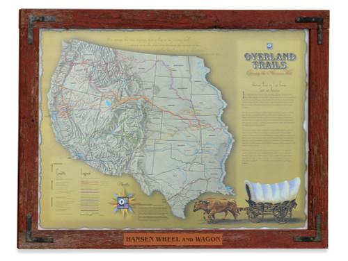 Overland Trails Poster