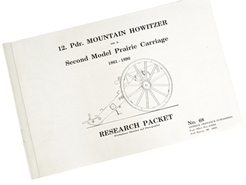 12 Pdr. Mountain Howitzer on Second Model Prairie Carriage-Cannon Plans