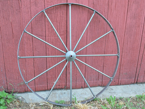 Metal Cart Wheel 24""