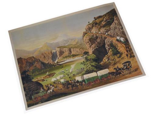 Vintage Peter Schuttler Wagon Art Print