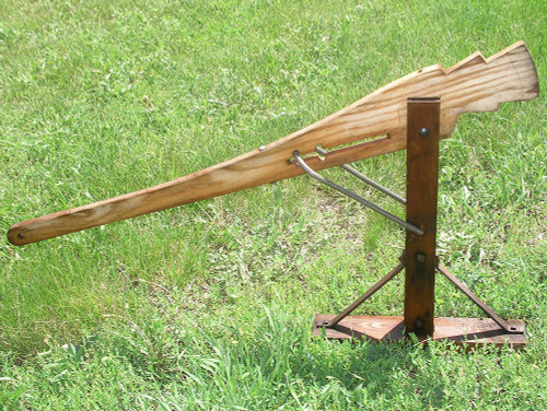 Original-Style Wood Wagon Jack
