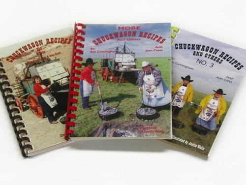 Chuck Wagon Recipes-3 Book Series