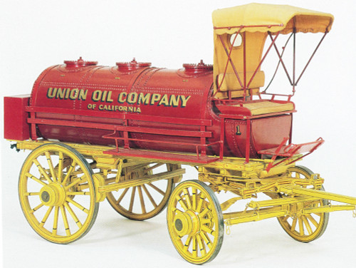 Oil Tank Wagon Plans