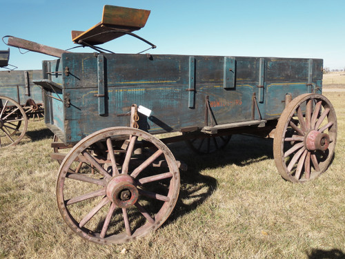 Antique Huntingburg Wagon