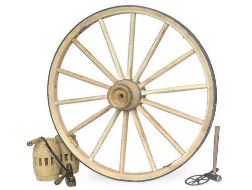"""Replacement Wagon Wheel, Extra Heavy 42""""-48"""" x 2 1/2"""""""