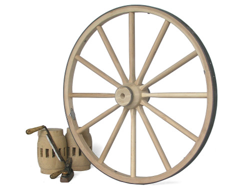 "Wooden Wagon Wheel 24""-30""-36"""
