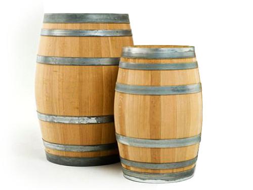Oak Display Barrels for Props