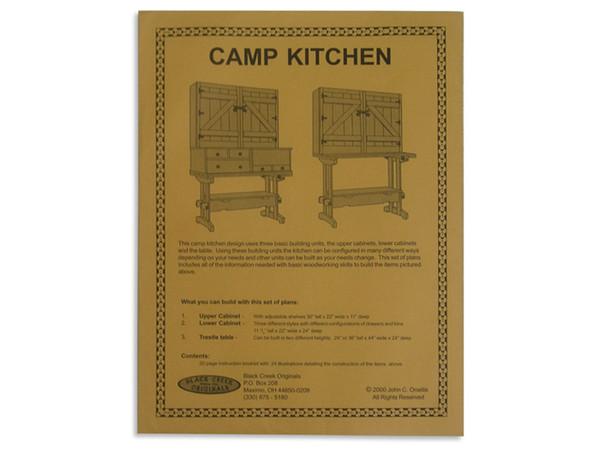 Camp Kitchen Plans