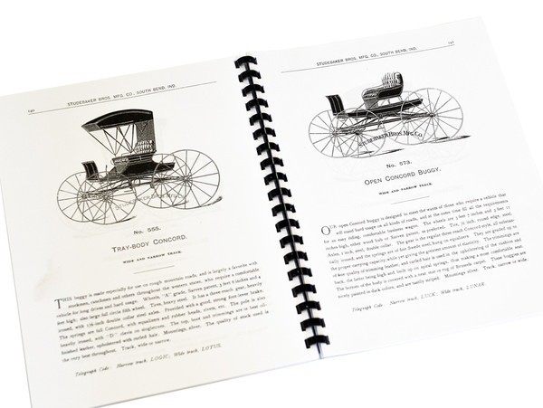 Studebaker Bros. Mfg. Co.-Catalog Reprint