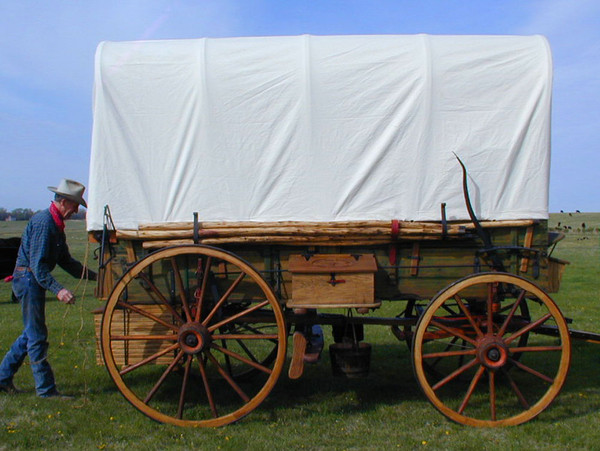 Sunforger Canvas Wagon Cover