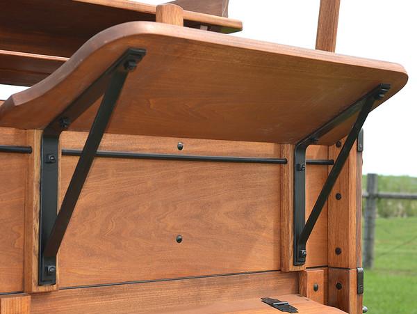 Wagon Foot Board Irons