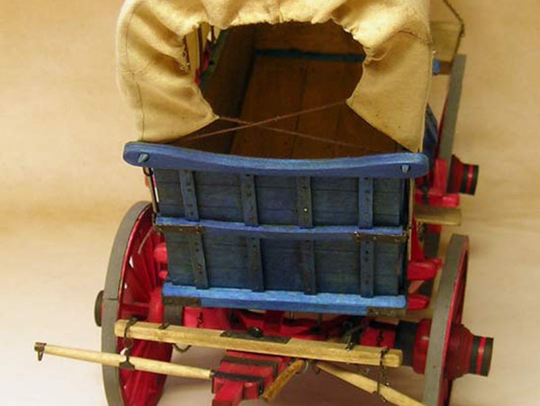 Conestoga Wagon 1:12 Scale Model Kit