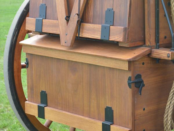 Offset Chuck Box Hinges-Pair