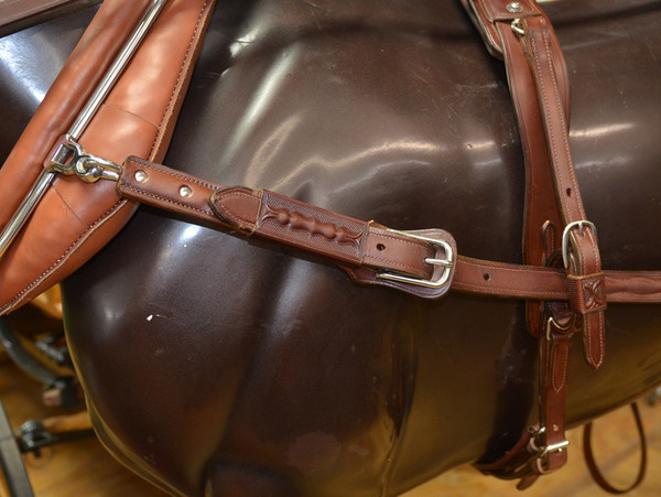 Historic Horse Harness-Antique Brown