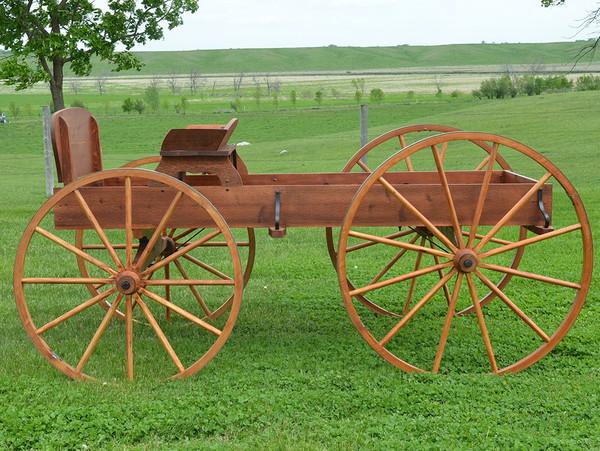 Buckboard Wagon for Display