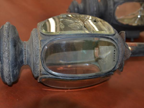 Antique Carriage Lamps-Pair