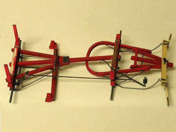 Model Trailways Cowboy Chuck Wagon C. 1860 1:12 Scale