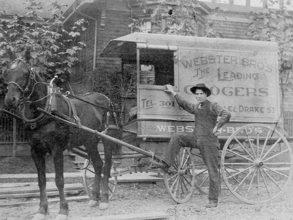 Antique Delivery Wagon Parts