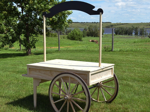Nostalgic Catering and Wedding Serving Cart