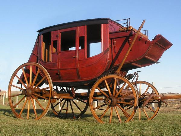 Custom Built Western-Style Stagecoach