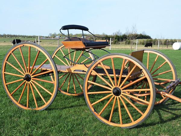 Ranch Buckboard Wagon-Basic