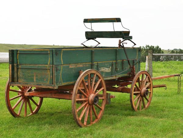 Antique Lamons Farm Wagon