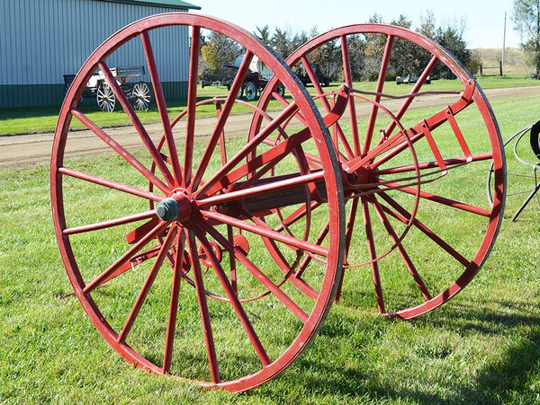 Historic Fire Hose Cart
