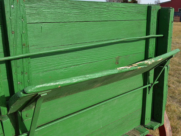 Red & Green Farm Wagon