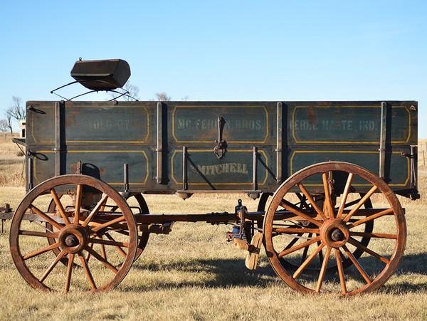 Authentic Mitchell Farm Wagon