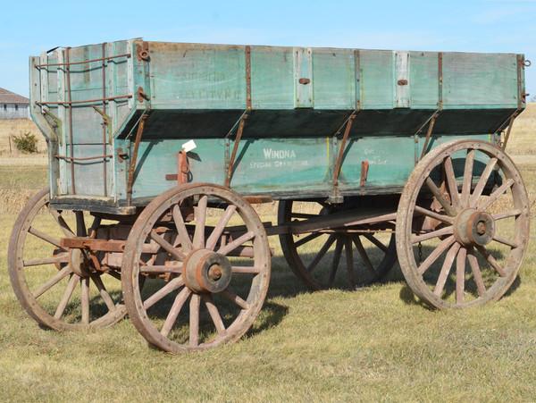 Winona Flair Box Freight Wagon