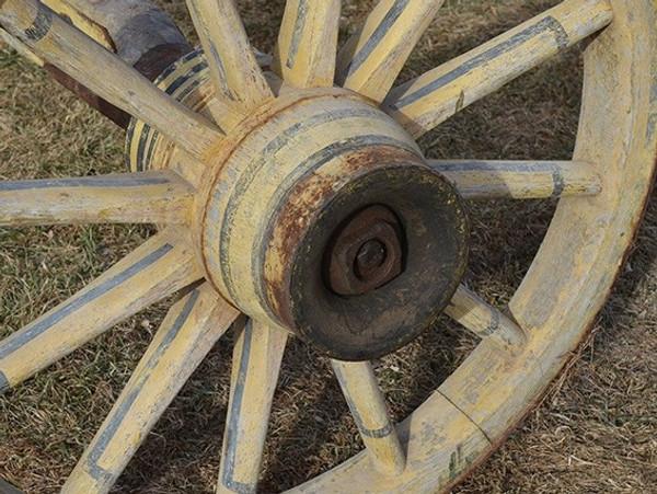 Wheels & Axle for Gypsy Wagon