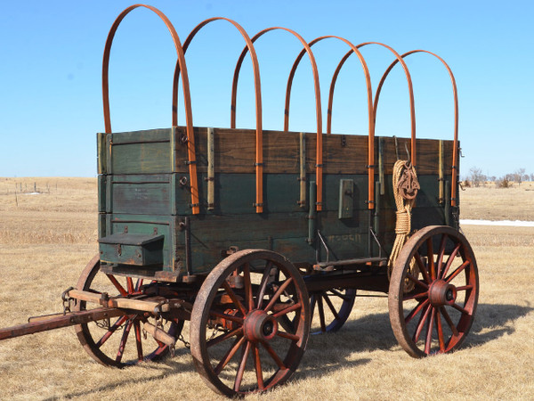 Weber Wide Tire Freight Wagon