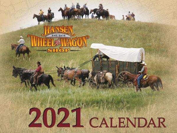 2021 Hansen Wheel & Wagon Shop Calendar