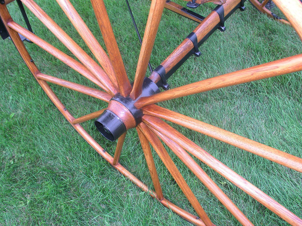 Henderson Phaeton with Shafts and Pole