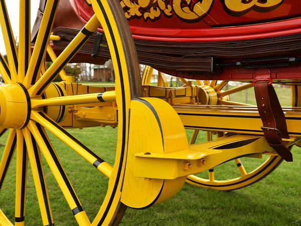 Replica Western Concord Stagecoach