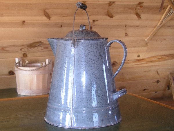 Antique Chuck Wagon Coffee Pot