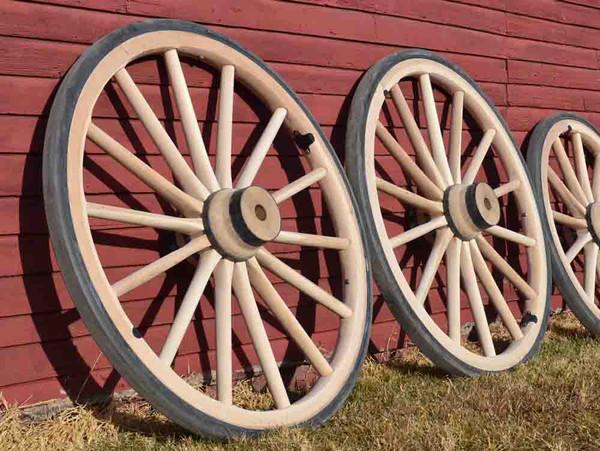 Wood Hub Wheels-Custom Order