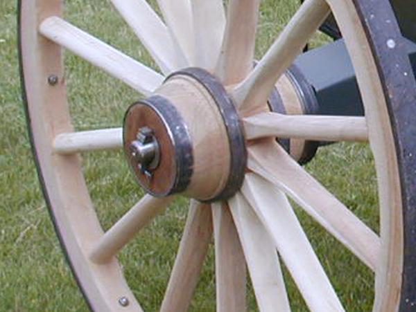 Howitzer Cannon Wheels-Custom Order