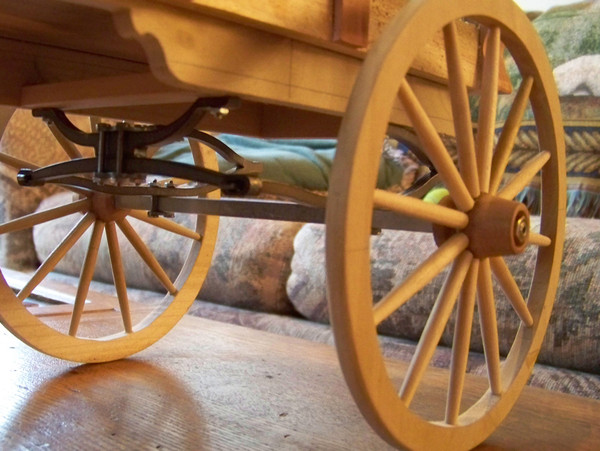 Model Wagon and Stagecoach Wheels