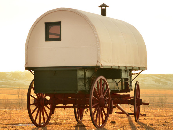 Sheep Camp Wagon Canvas Cover