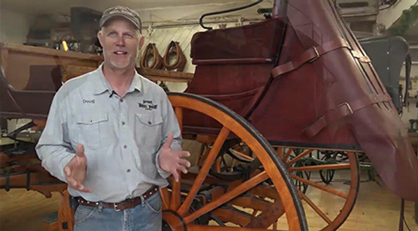 "Hansen Wheel & Wagon Shop Highlighted on ""Today's Wild West"""