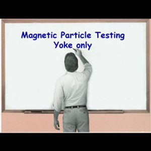 NDT Magnetic Particle Testing - Yoke Only