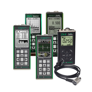 Thru-Coating and A-Scan Thickness Gauges