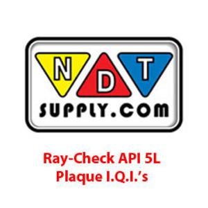 Ray-Check API 5L Plaque I.Q.I.'s