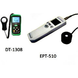Economical UV-A and Visible Light Meters