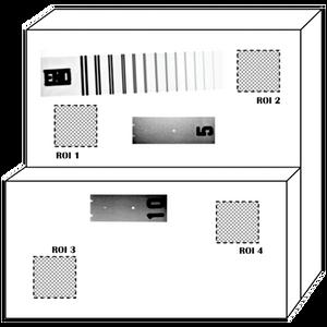 Duplex Plate Phantom per E2737